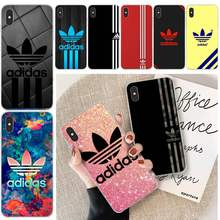 Luxury Brand Letter Label AD Bling Cute Phone Case For Iphone 6 6s Plus 7 8 Plus X XS XR XS MAX 11 11 Pro 11 Pro Max Cover(China)