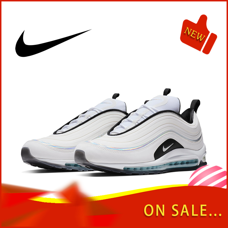 Original Authentic Nike Air Max 97 LX Men's Running Shoes Fashion Outdoor Sports Shoes Breathable Comfort 2019 New BV6666-106