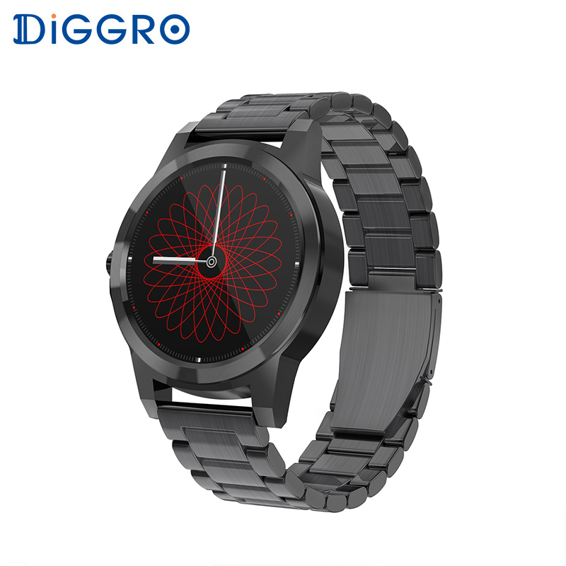 Diggro DI03 Plus Bluetooth Smart watch Waterproof Heart Rate Monitor Pedometer Sleep Monitor for Android & IOS pk DI03