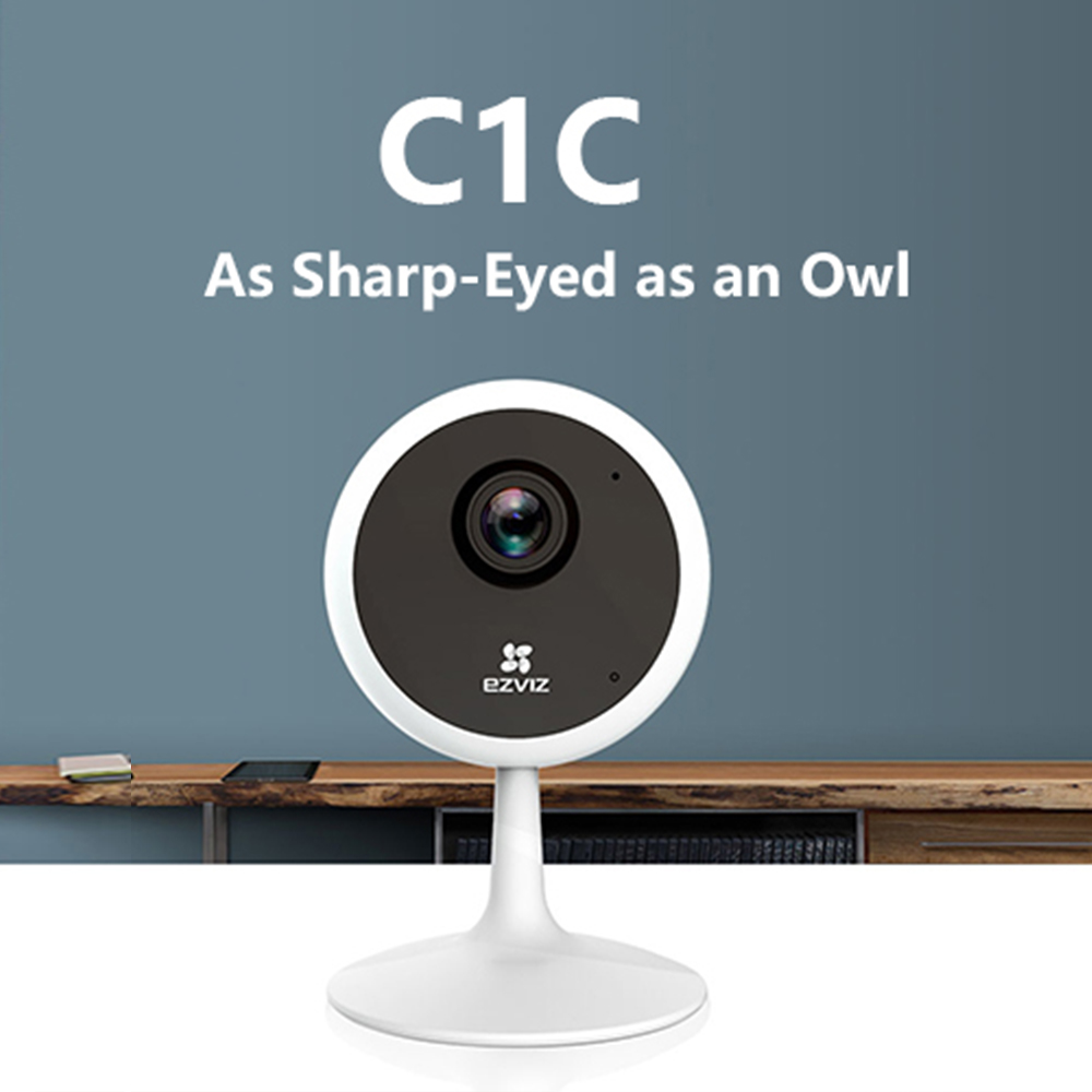 HIKVISION C1C EZVIZ Indoor wifi <font><b>IP</b></font> <font><b>camera</b></font> security HD <font><b>1080P</b></font> Cloud Wireless 12m High frame night vision <font><b>camera</b></font> <font><b>de</b></font> <font><b>seguran</b></font>ç<font><b>a</b></font> image