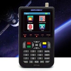 Image 3 - FFYY IBRAVEBOX V9 3.5 inç LCD dijital ekran dijital uydu bulucu sinyal bulucu metre uydu bulucu