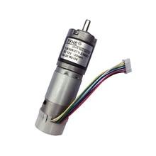 цена на Self-Locking 30mm diameter 24v low speed large torque rotary dc planetary metal gear motor for water pump and tattoo machine