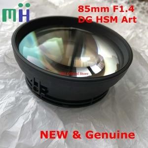 Image 1 - Новинка 85 1,4 арт 1 я группа объективов передние линзы оптический элемент Стекло для Sigma 85 мм F1.4 DG HSM художественная камера запасная часть для замены