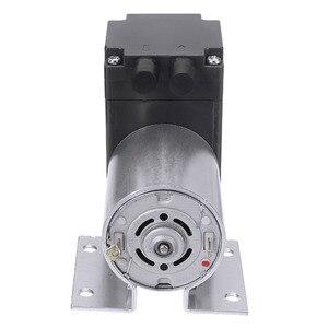 Image 3 - Mini bomba de aire de vacío eléctrica, bomba de diafragma de succión de alta presión, 5l/min, 80kPa, CC, 12V, con soporte para la industria química, 1 ud.