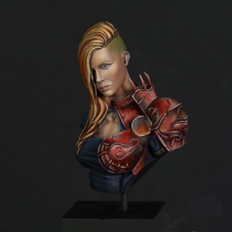 1/10 Resin Bust Figure Model Kit Unpainted