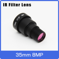 8Megapixel 4K Action Kamera Objektiv 35mm M12 IR Filter 1/1,8 Fern Ansicht Für EKEN SJCAM Xiaomi Yi Gopro DJI Sport Kamera