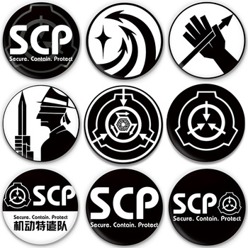 SCP Foundation: Alpha Red Right Hand Delta5 Creative Foundation Student Badge image
