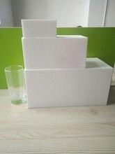 Polystyrene Styrofoam Foam cuboid educational tools /toys children/kids DIY handmade materials many sizes