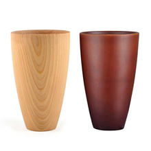 Vasos de cerveza vaso de café Natural bambú taza de té aislado leche vidrio vino cocina té servicio chino madera Vintage nuevo