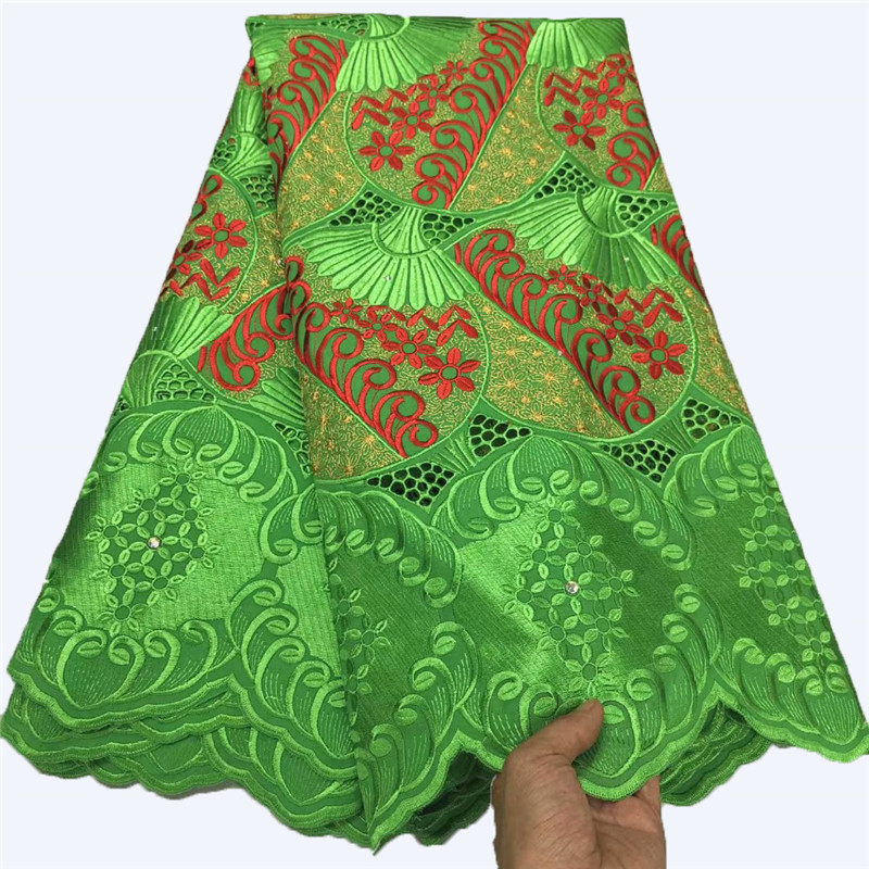 Nigerian Lace Fabrics 2021 High Quality Lace African Lace Fabric Cotton Lace Guipure Cord Lace Fabric For Party Sewing YC-160
