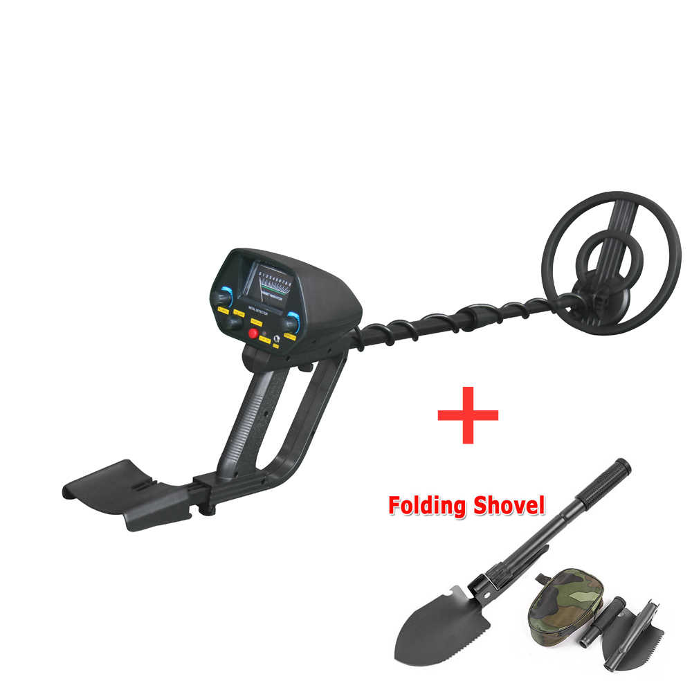 Metal Detector Underground Bawah Tanah MD-4080 Emas Ground Metal Detector Sensitivitas Tinggi Sliver Finder Pinpointer (MD-4030 Diperbarui)