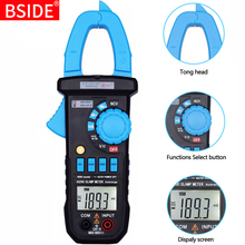 BSIDE ACM03 plus 4000 Counts Auto Range 400A AC&DC Current Digital Clamp Meter with Capacitance Hz Measurement and NCV