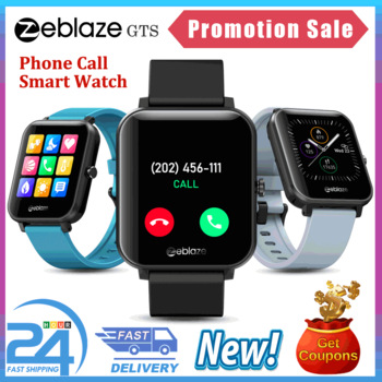 Zeblaze GTS Smart Watch for Phone-Calls Smartwatch Fitness Sleep Heart Rate Blood Pressure Monitor IP67 Waterproof Smart Watches