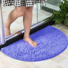 1 Household Coral Fleece Bathroom Mat Anti-Slip Memory Foam Carpet Soft Floor Carpet Super Absorbent Washable Bathroom Absorbent