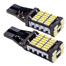 T15 LED Canbus Bulbs Decode 4014 45smd Super bright canbus for car turn signal reversing brake light 2pcs