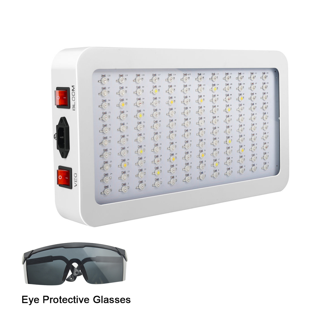 LED Plant Grow  600W/1000W/1200W/1500W/2000W Full Spectrum Veg/Bloom Double Control Phytolamp Greenhouse Light For Seeds Plants