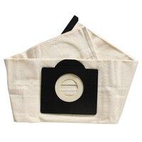 2 pçs lavável sacos de filtro para karcher wd3 rremium wd3200 se4001 wd3300 wd2 se 4000 mv3 aspirador saco
