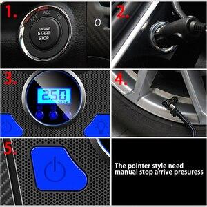 Image 5 - New Digital Tire Inflator Pump DC 12 Volt Car Portable Air Compressor Pump 150 PSI Auto Aire Pump for Car Motorcycle LED Light