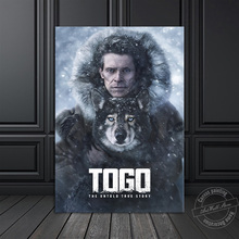 Hot Movie Poster Togo Pictures for Living Room & Bedroom Wall Decor Sled Dog Wall Hanging Painting Canvas Art Wall Picture Gift wall art canvas print back to the future 1 2 3 hot movie poster for living room decor bar decoration