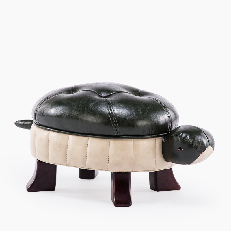 Change Shoes Stool Cute Home Sofa Stool Creative Stool Door Wear Shoes Stool Nordic Small Chair Turtle Stool|Children Stools| |  - title=
