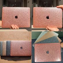 Brilho brilho caso rígido do portátil para apple macbook ar pro retina 13 16 polegada caso portátil para ar pro m1 13 a1466 a2179 a2338 a2337