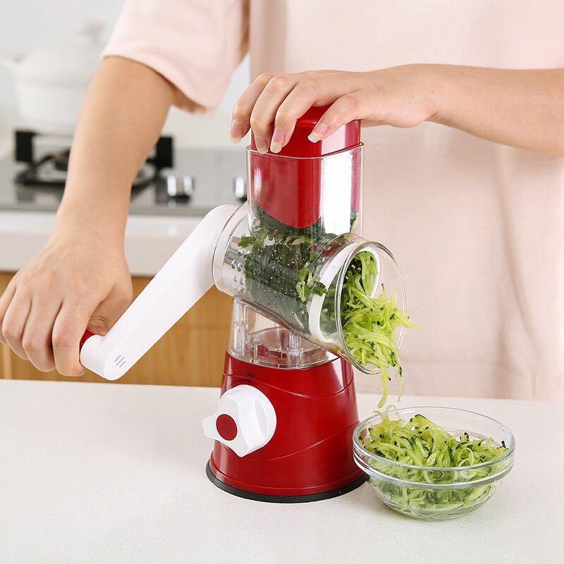 Ручная спиральная овощерезка измельчитель слайсер многофункциональная терка для овощей резак из нержавеющей стали кухонные инструменты|Терки|   | АлиЭкспресс