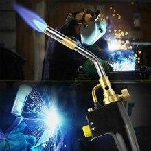 MAPP Propane Gas Welding Torches Plumbing Blow Torch Soldering Tool Metal Flame Gun Brazing Welding Quick Fire Solder Burner