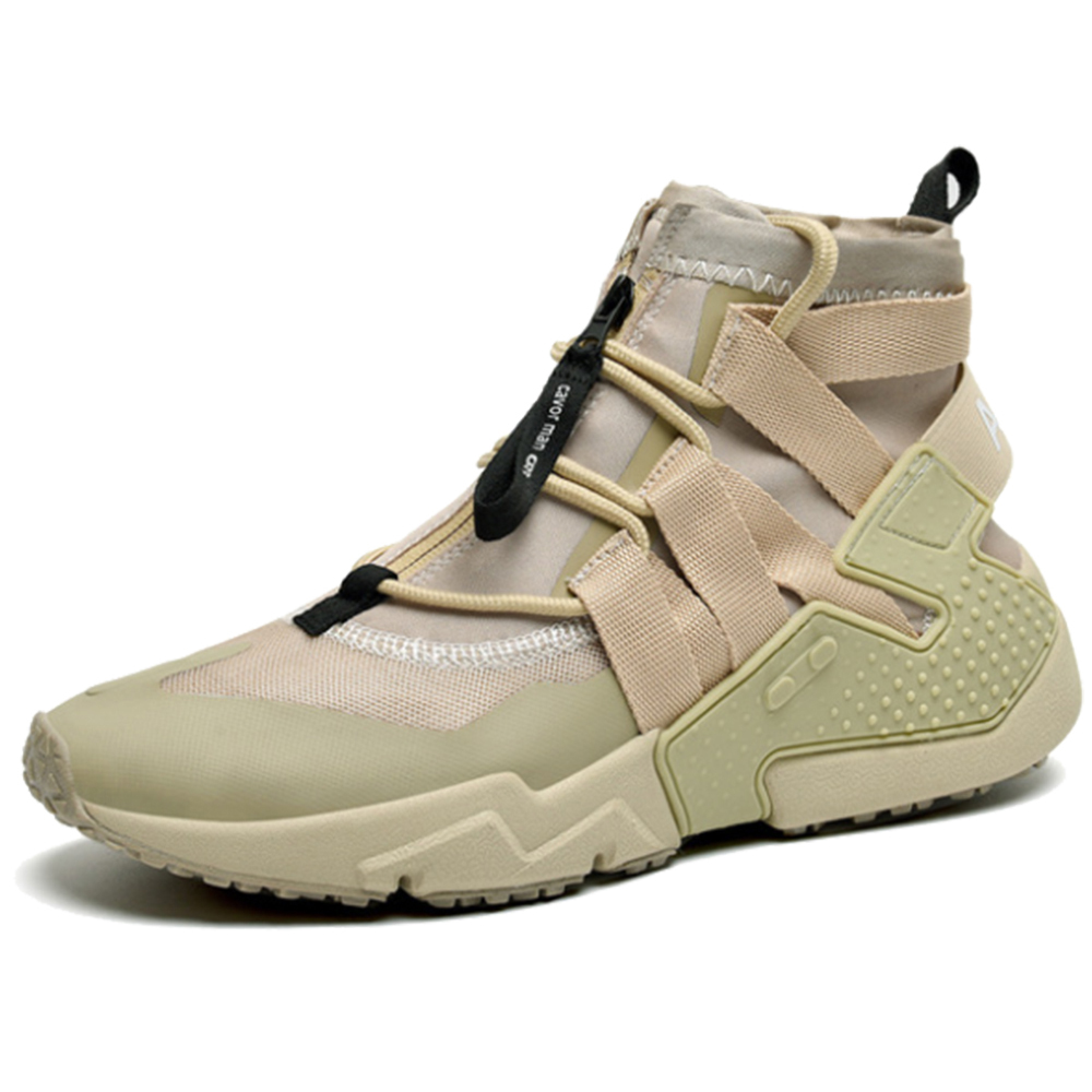 TaoBo High Top Khaki Soft Basketball Shoes For Men 39-44 Breathable Basketball Sneakers Anti-skid Athletic Sports Man