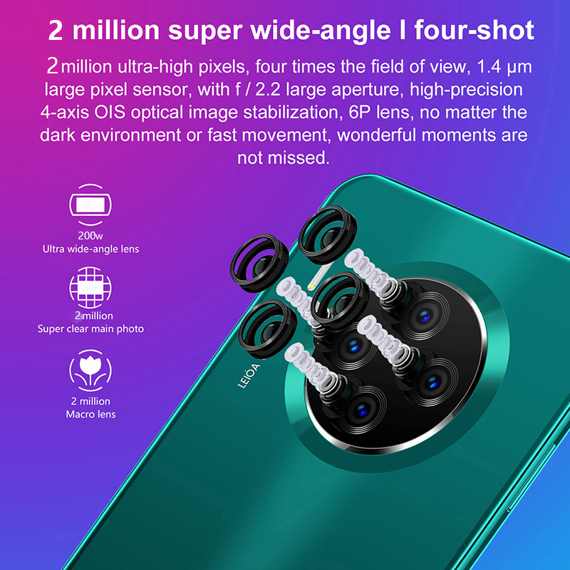 2020 Newly SOYES Global Version Smart phone Quad Core Android9.1  Cell phone 5.8inch Screen Dual Sim Cards 1500mAh Mobile Phone 2