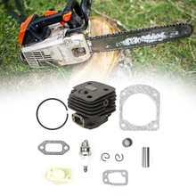 Zinc Alloy Garden Cylinder Piston Kit Practical Chain Saw Accessories Replacement For Husqvarna 266 266se 162 Chaninsaw Cylinder