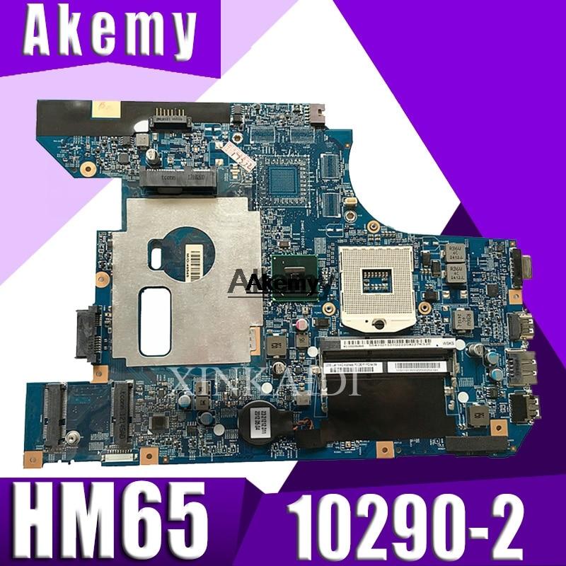10290-2 48.4PA01.021 LZ57 MB Mainboard For Lenovo V570 V570C Motherboard B570 Z570 Motherboard HM65 PGA989 Test 100% Work