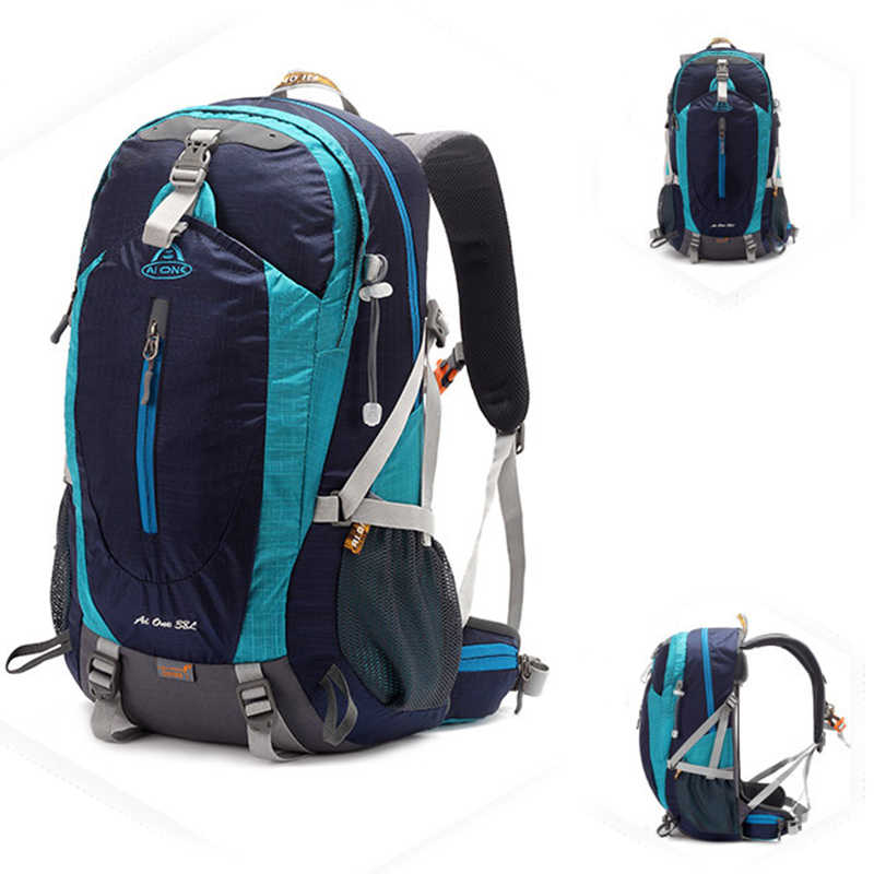 38L Climbing Backpack Large Mountaineering Climbing Backpack Outdoor Travel Bag