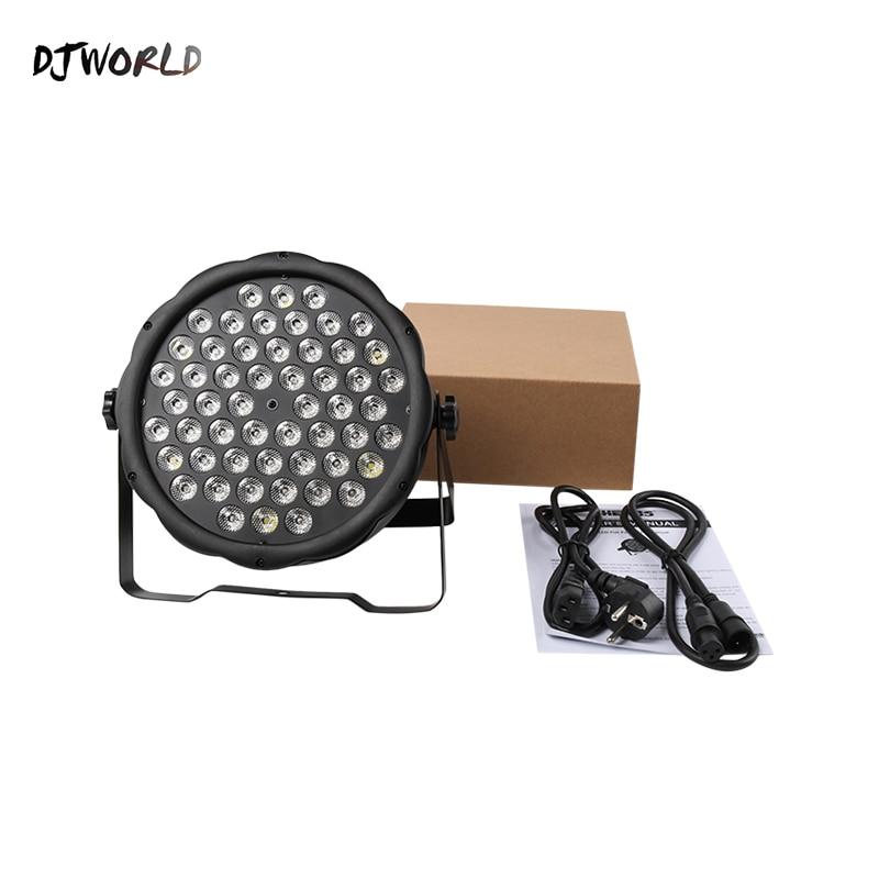 Djword  LED  Par Light 54x3W RGBW Lighting Strobe DMX DJ Wash Disco Gorgeous Stage Lights DMX Controller Effect Free shipping