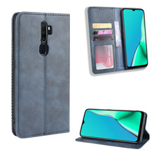 Leather Flip Cover For OPPO A5 2020 Case