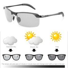Photochromic Sunglasses Men Polarized Glasses Male Change Color Polaroid Sun Glasses for Men