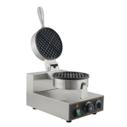 free shipping Commercial electric waffle maker Non stick waffle machine electric waffle iron plate cake oven bubble waffle maker