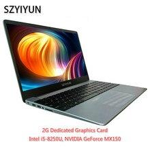 I5-8250U 8G RAM Intel Laptop NVIDIA GeForce MX150 ноутбук Layout Keyboard Netbook Business Of