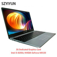 I5 8250U 8G RAM SSD Laptop 2G GeForce MX150 ноутбук Backlit Keyboard Netbook Business Office Gaming Notebook Portable Computer