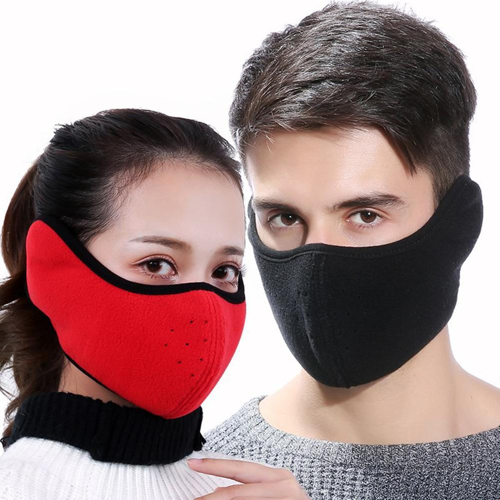 Dustproof Neoprene Neck Warm Half Face Mask Windproof Bike Bicycle Cycling Snowboard Outdoor Masks  Winter Sport Accessories