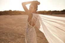 Vestido de novia de sirena de encaje hecho a medida de Eslieb 2020