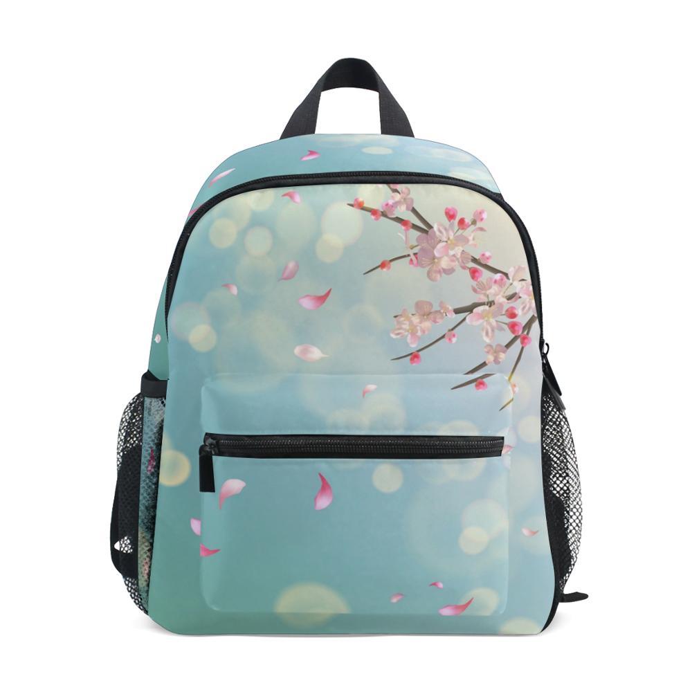 ALAZA New School Bags Flower Printing Korean Style Children School Backpacks Girls Large Capacity Backpack Bag For Kids Mochila