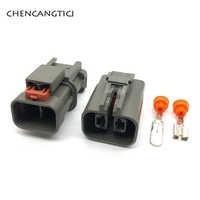 Generador de corriente pesada, 5 Juegos de 2 pines KET H20, conector automático, MG-MG7 de corriente pesada, enchufe de refrigerador de aire 7122-6224-40 7223-6224-40