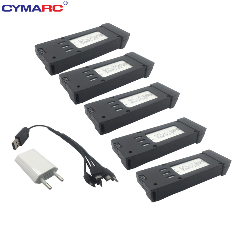 <font><b>3.7V</b></font> <font><b>500mAh</b></font> <font><b>Lipo</b></font> <font><b>Battery</b></font> For E58 M68 RC Drone Quadcopter Spare Parts Rechargeable <font><b>Battery</b></font> Replacement Accessories image