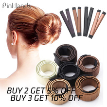 New Magic Hair Styling Tool Bun Maker French Twist Girls Women Accessories Braider Doughnuts Docuts
