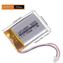 Certyfikat CE HOHS 602535 582535 SP5 470mAh akumulator do MIO tachograf papago HP F300 F200 F210 QStar A5 DVR parkcity 710