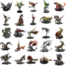 Japan Game Monster Hunter World Figure PVC Models Hot Dragon Action Figure Decoration Toy Monsters Model Collection model fans instock 36cm duel monsters blue eyes ultimate dragon gk resin made figure toy for collection not contain kaiba seto