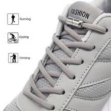 SOBU новые эластичные шнурки без завязок металлическая обувь на шнурках и застежке для детей Взрослые кроссовки быстрые шнурки полукруглые шнурки