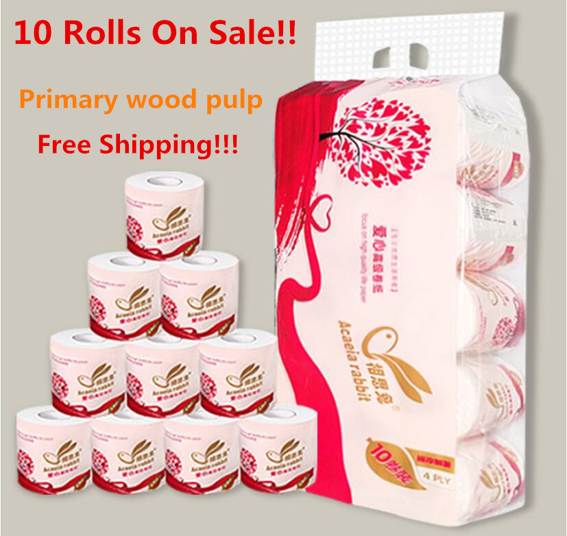 Home Package White Toilet Paper Toilet Roll Tissue Paper Towel Tissue Household Toilet Paper Toilet Tissue Paper