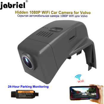 Jabriel HD 1080P Car Cam dash camera 24 hour video recorder car dvr rear Camera for Volvo xc90 s60 s90 v60 xc60 s80 v50 v40 s40