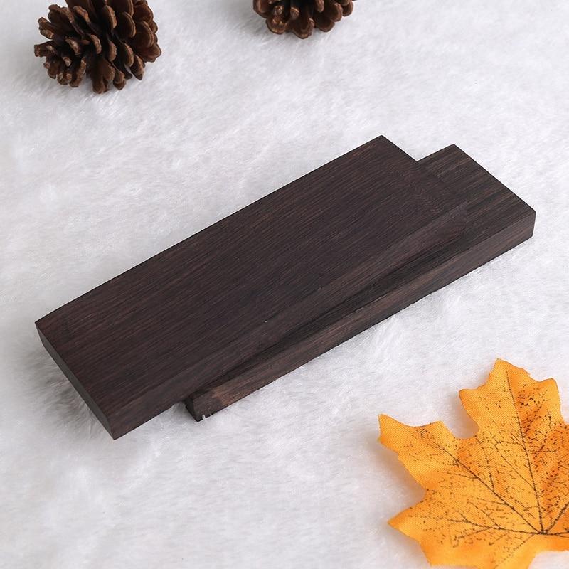 2 pçs preto ébano madeira madeira madeira